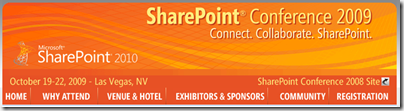 Sharepoint Conference 2009/Sharepoint 2010