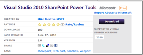 Sharepoint 2010 : Visual Web Part in Sandbox : yes you can !