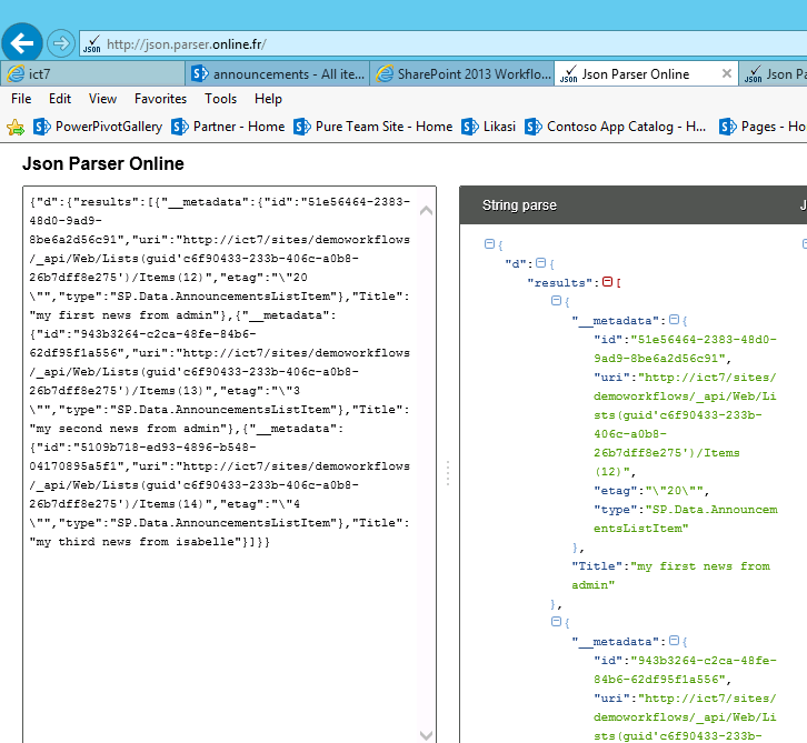 Calling the SharePoint 2013 Rest API from a SharePoint ...
