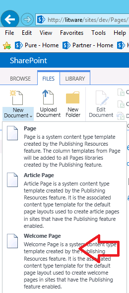 Create a (publishing) Layout page-Part 1/2 : SharePoint 2013 ...