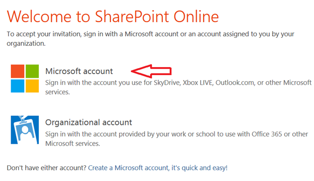 Sharepoint online and external users this invitation has already however the external user has a existing private live id lets call it sergelucahotmail and doesnt want to use it he didnt signout from this live stopboris Image collections