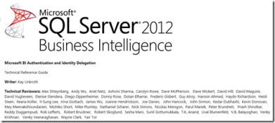 Microsoft SharePoint BI On premise:forget SAML