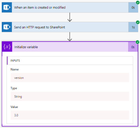 Get the version of a SharePoint list item with Flow | Serge